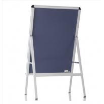 得力(deli) 8790 立式海报框书写白板 可固定海报(1)