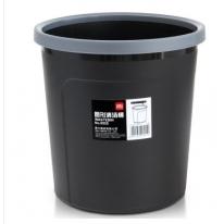 得力(deli)9555 带压圈耐用圆纸篓_清洁桶_垃圾桶
