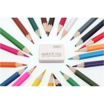 得力4B橡皮擦 Deli学生文具用品美术绘图橡皮白色橡皮