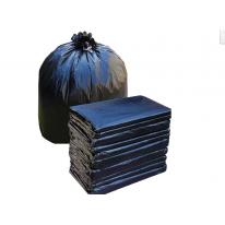 加厚平口黑色大垃圾袋物业酒店宾馆环卫厨房60*80 75*90