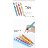 得力(deli)0.5mm金属中性笔签字笔 子弹头12支/盒S81
