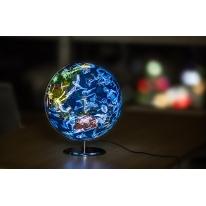 得力(deli)2188 φ32cm 星座LED带灯地球仪 中英文教学演示