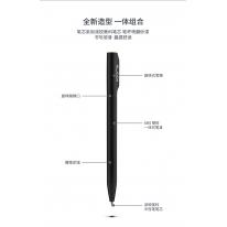 纽赛(NUSIGN)转动式中性笔 0.5mm油墨笔水笔 ABS笔杆 深空灰NS552