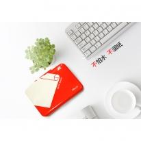 日本进口鸿翔HONGXIANG财务办公专用发票银行橡皮章印油红色印台