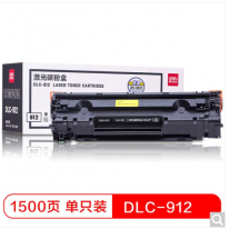 得力(deli) DLC-912 黑色硒鼓 (适用佳能Canon LBP 3018/3108)