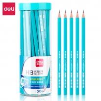 得力58195抗菌学生铅笔《50支装》